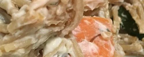 Creamy Chickpea Pasta