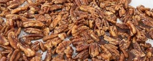 Maple Glazed Cinnamon Pecans