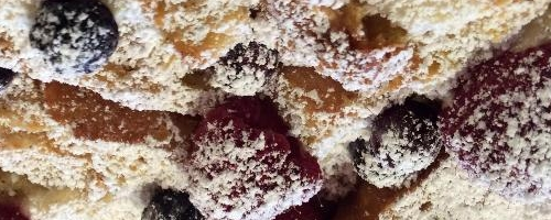 Raspberry French Toast (strata)