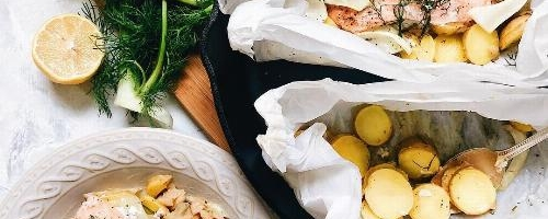Salmon Fillets With Dill Butter