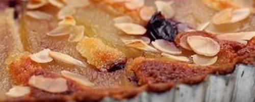 Pear Almond Tarte [vegan, Gluten Free]