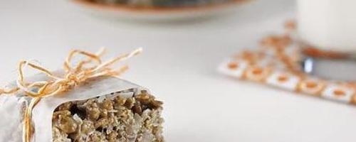 Chocolate Coconut Rice Krispies Treats