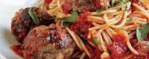 The Best Italian Spaghetti And Meatballs