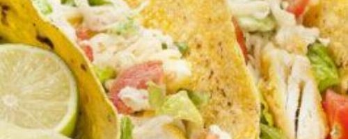 Fish Taco's Tilapia