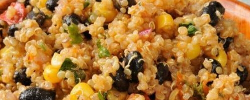 Quinoa and Black Beans with Cumin