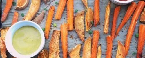 Sweet Potato & Carrot Fries