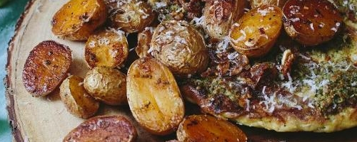 Garlic   Paprika Roasted Baby Potatoes