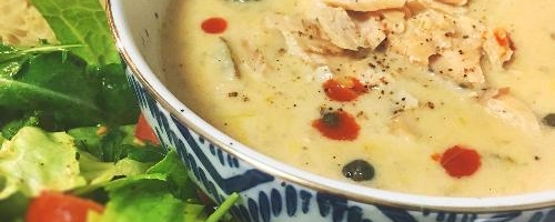 Smoked Salmon Potato Leek Chowder