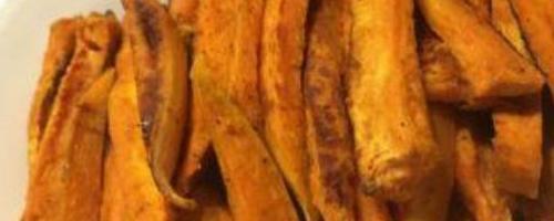 Zesty Yam Or Sweet Potato Fries