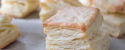 Austen's Rolled Biscuits