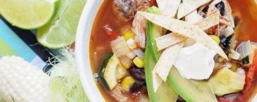 Quick Pork Enchilada Soup