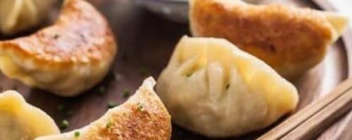 Winter Veggie Gyoza(dumpling)