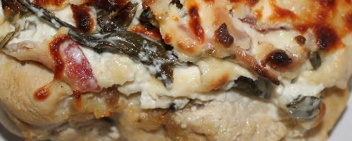 Creamy Spinach And Bacon Smothered Chicken