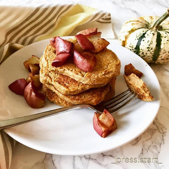 Press Start's Sp (sweet Potato) Pancakes