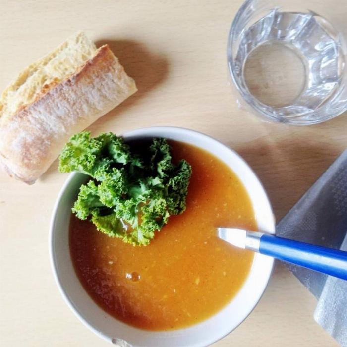Peppered Pumpkin Soup