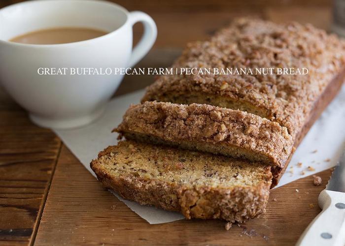 Pecan Crunch Banana Bread