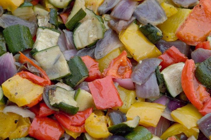 Simple Skillet Vegetables