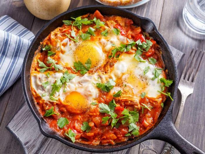 Eggs In Purgatory (shakshuka Italiano)