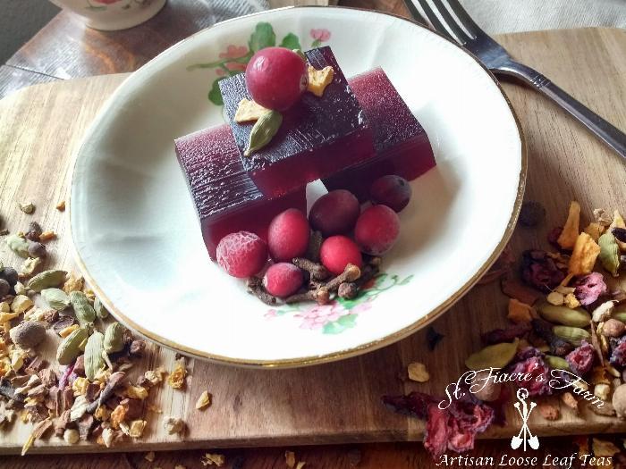 Healthy Herbal Tea Jello (sugar Free!)