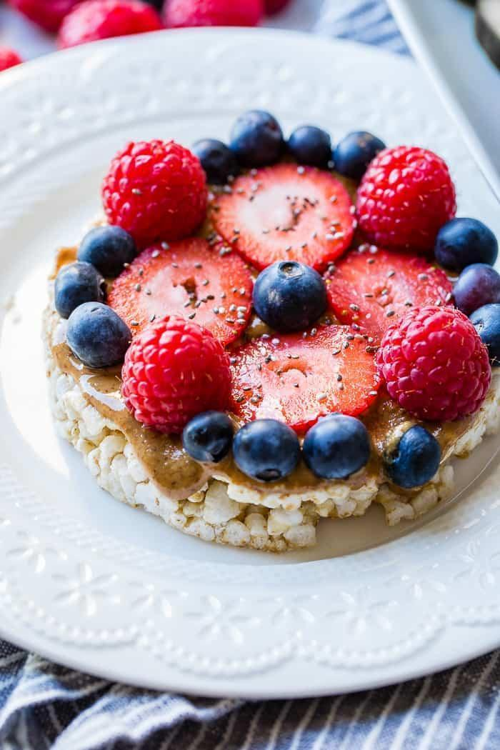 Rice Cake With Berries