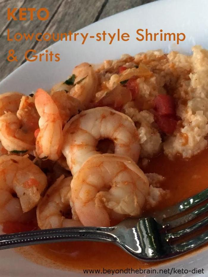 Keto Lowcountry-style Shrimp And Grits