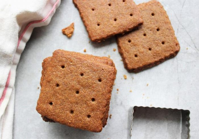 Graham Crackers - From Scratch