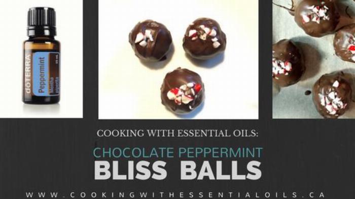 Chocolate Peppermint Bliss Balls