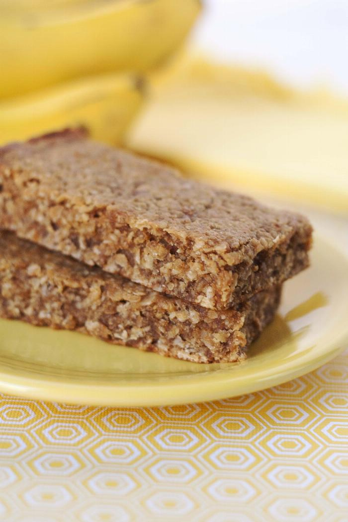 Peanut Butter Banana Oat Bars