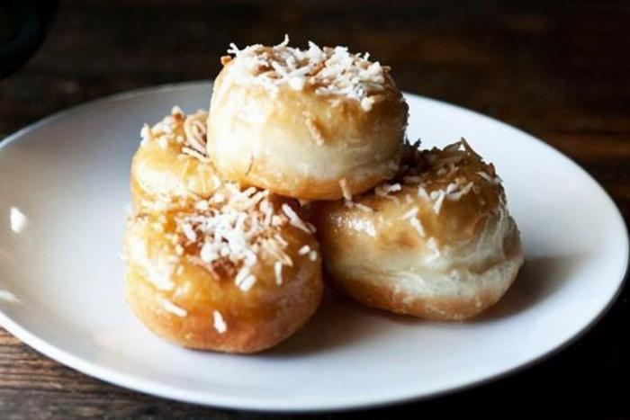 Vegan Coconut Doughnuts