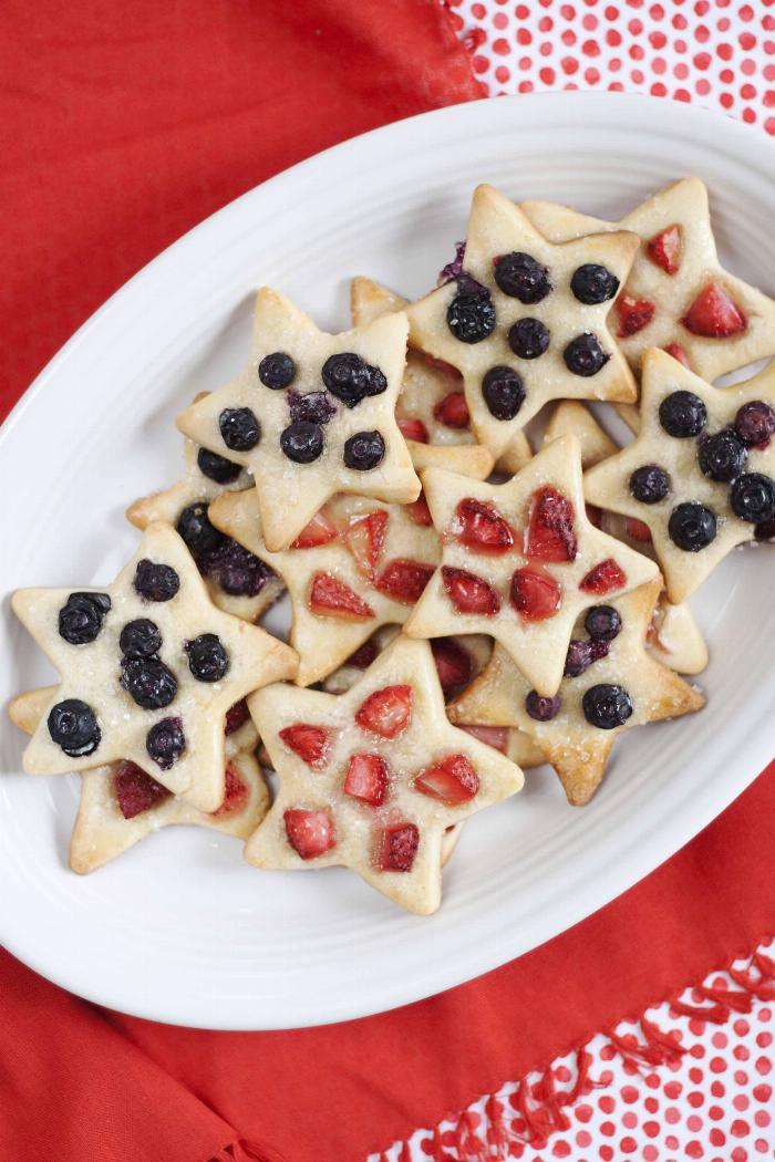 Summer Berry Shortbread Cookies