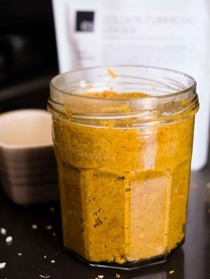 Golden Tumeric Nut Butter