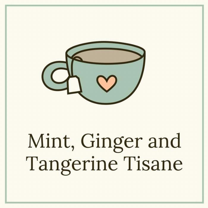 Meditative Mint, Ginger, And Tangerine Tisane