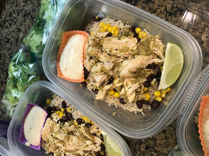 Pressure Cooker Salsa Verde Chicken And Cilantro-lime Rice