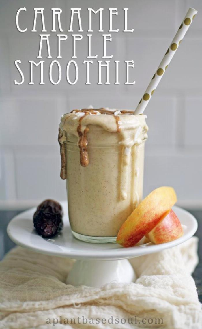 Caramel Apple Smoothie