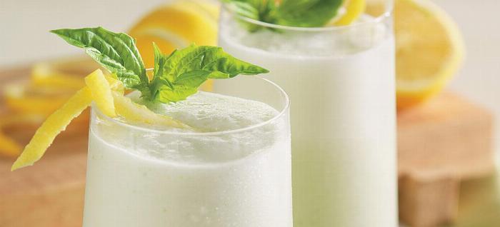 Lemon Basil Smoothie