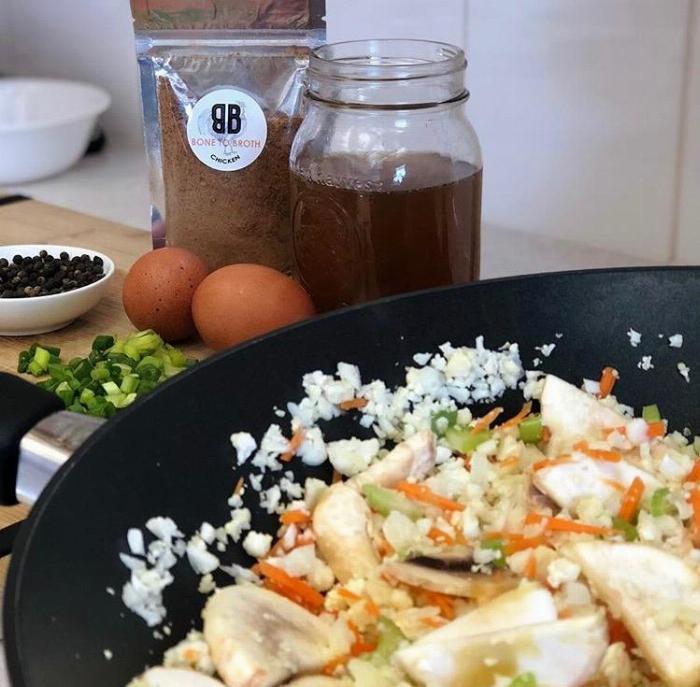 Bone To Broth Cauliflower Fried Rice