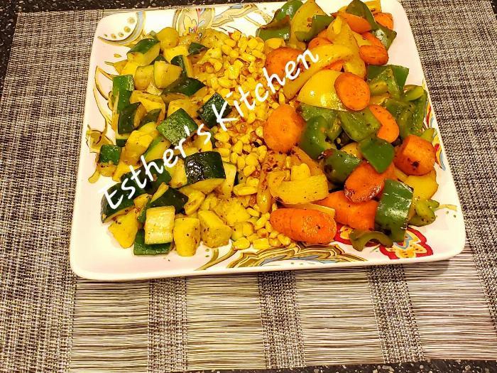 Sauteed Garden Vegetables