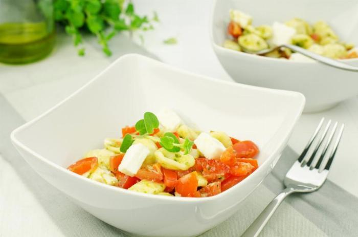 Vegetable, Spinach and Feta Pasta