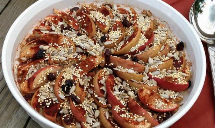 Apple Quinoa Bake