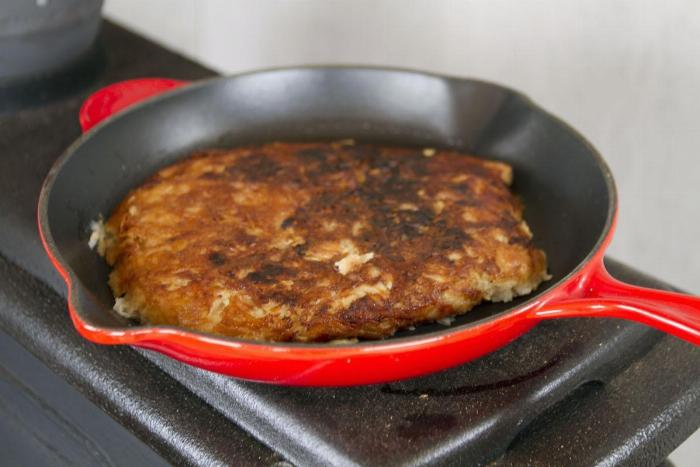 No. 02 - Vickie's Fring Frang (potato Galette)
