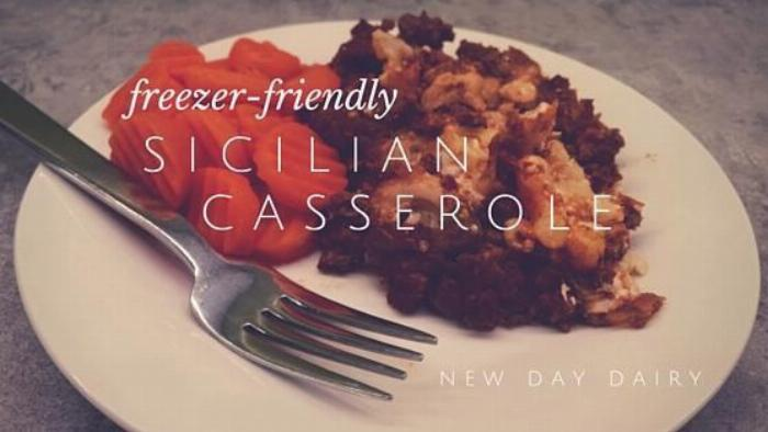 Freezer-friendly Sicilian Casserole
