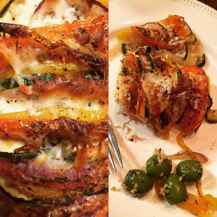 Primavera Stuffed Chicken Breast