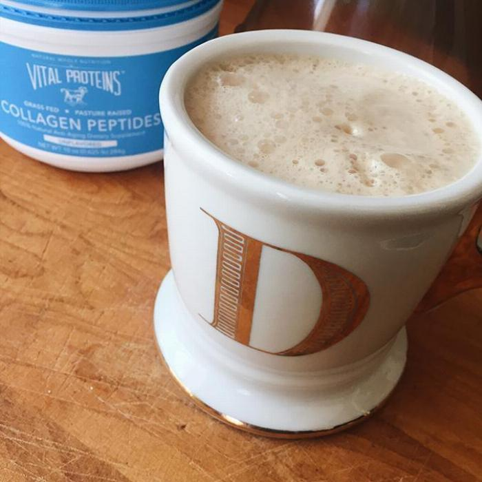 Blended Coconut Collagen Coffee