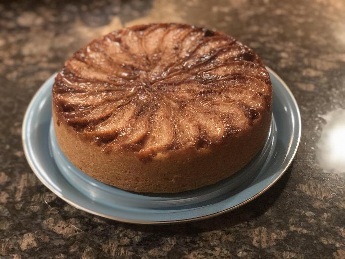 Cardamom-pear Upside-down Cake
