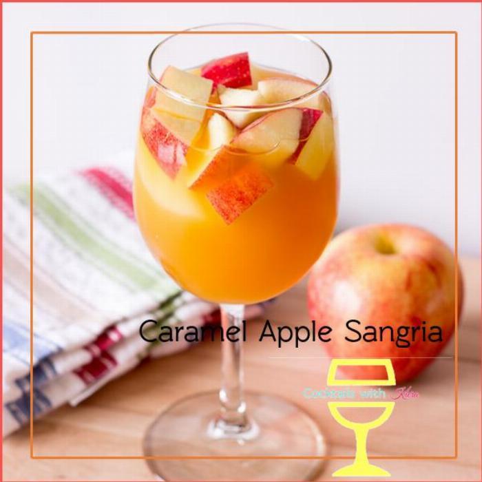 Caramel Apple Sangria