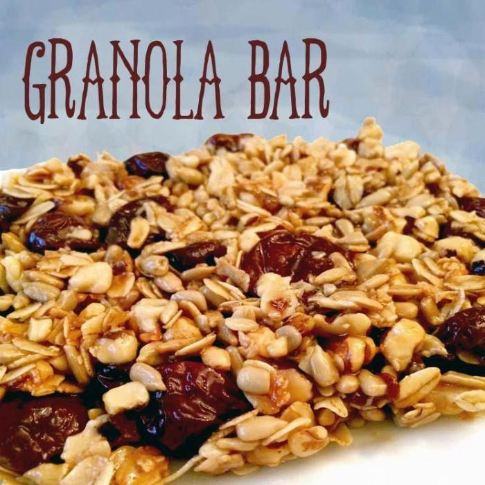 Speedy Quick Microwave Granola Bar