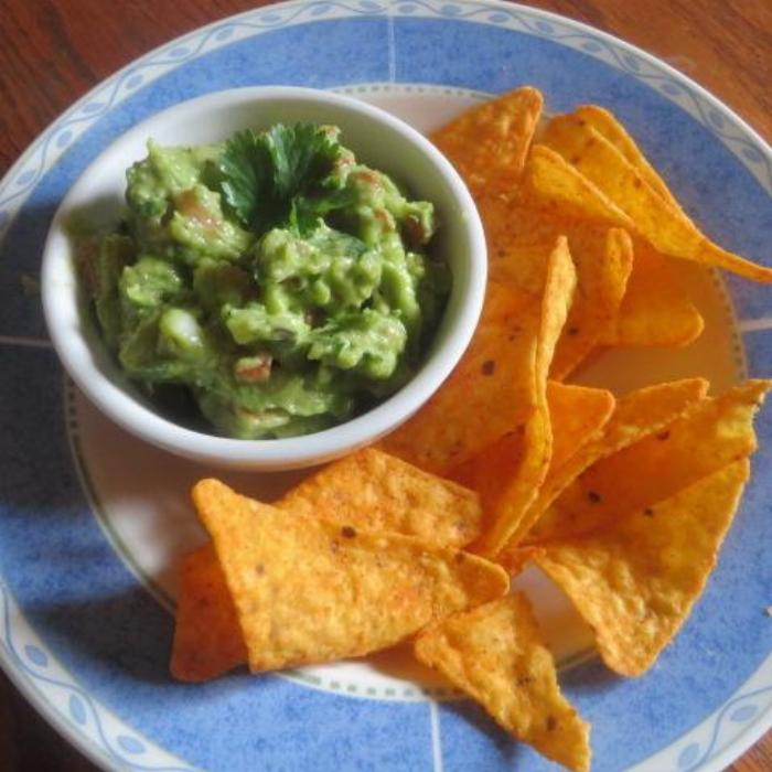 Not Too Hot, Super Flavorful Guacamole