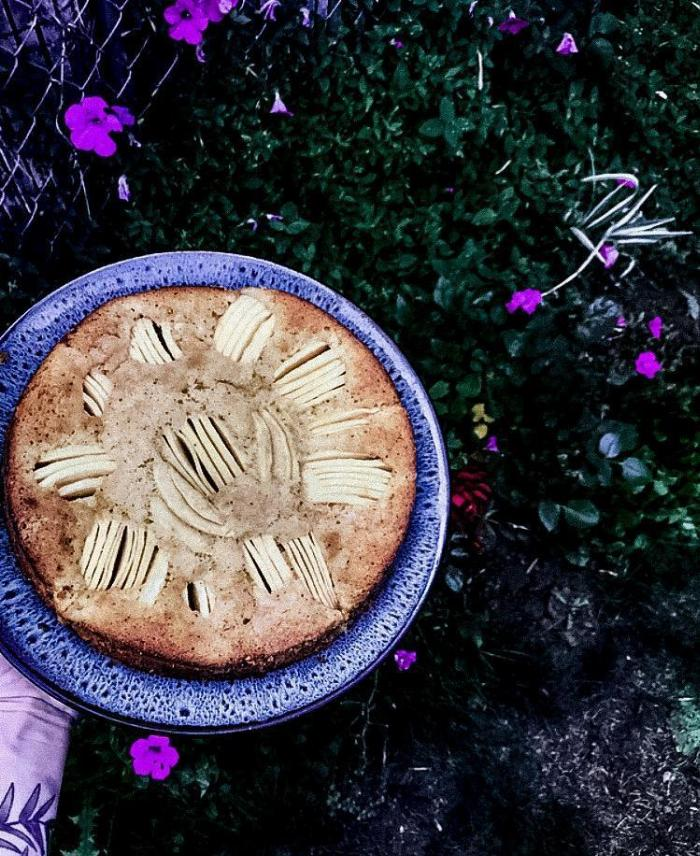 Brown Butter German Apple Cake