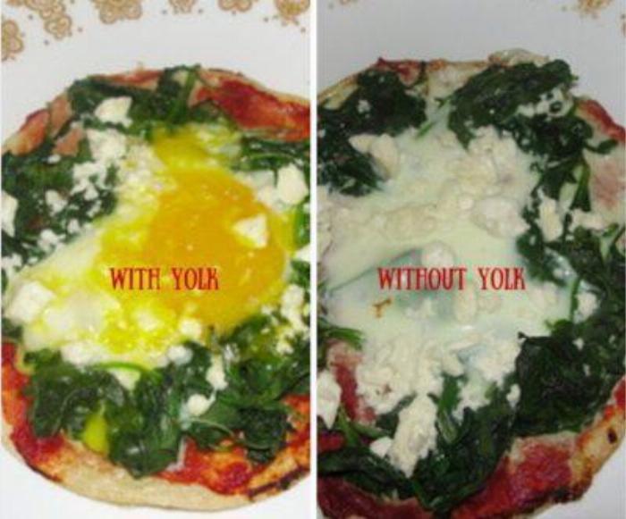 Tortilla Breakfast Pizza