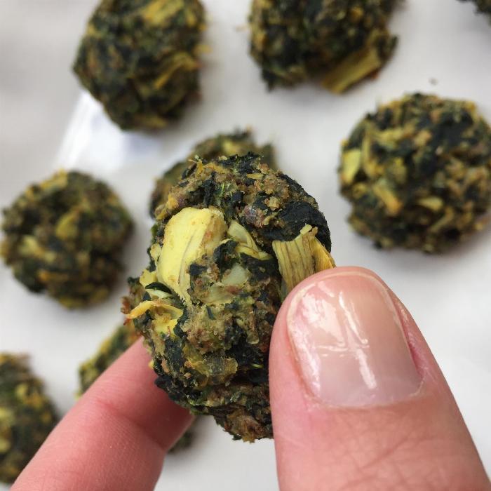 Spinach And Artichoke Balls